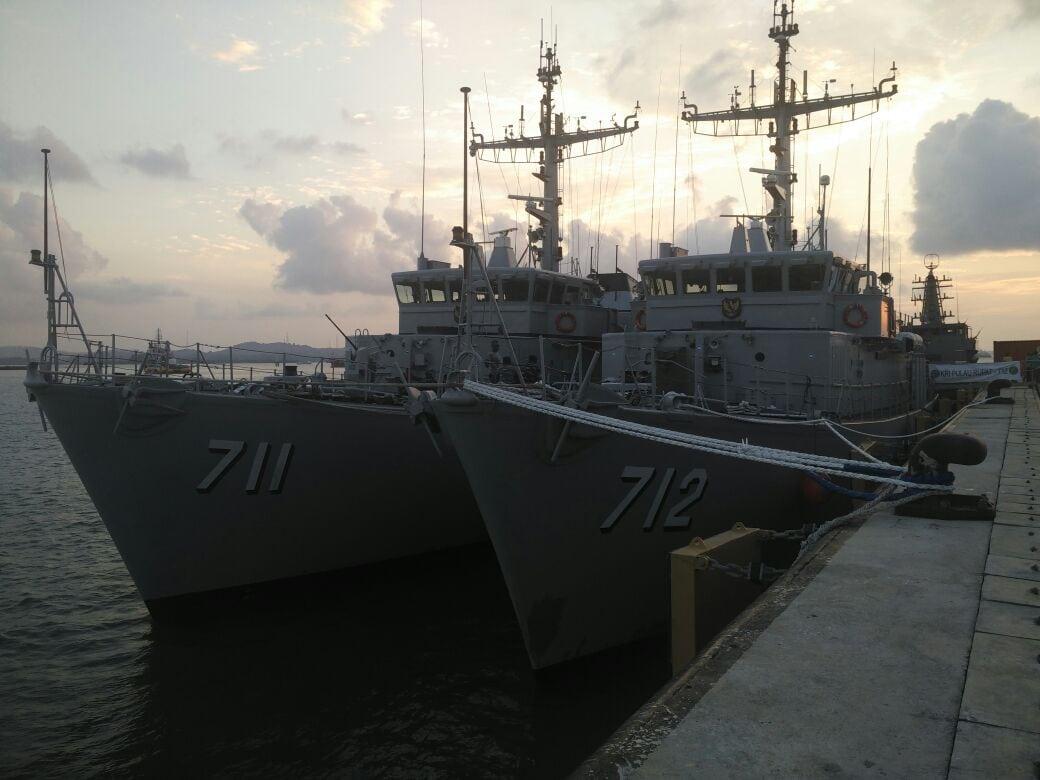 Niszczyciele min Indonezja / Portal Stoczniowy