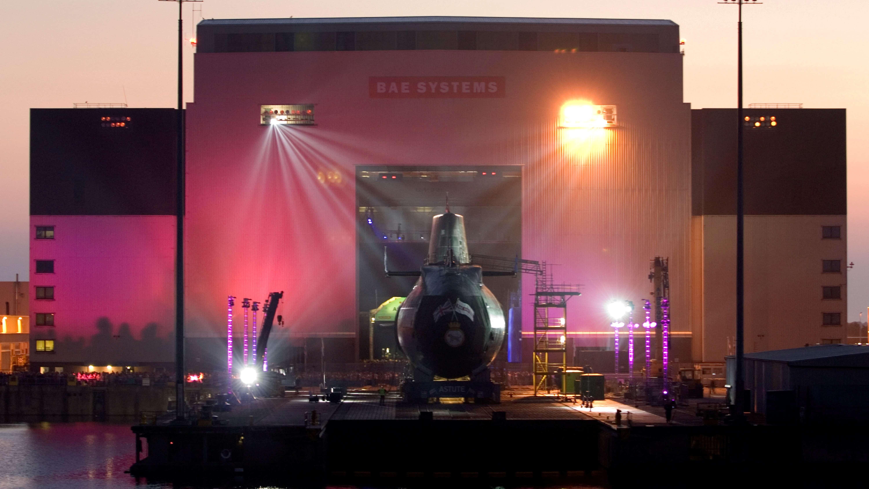 BAE Systems: 2,4 mld funtów na atomowe okręty podwodne dla brytyjskiej Royal Navy