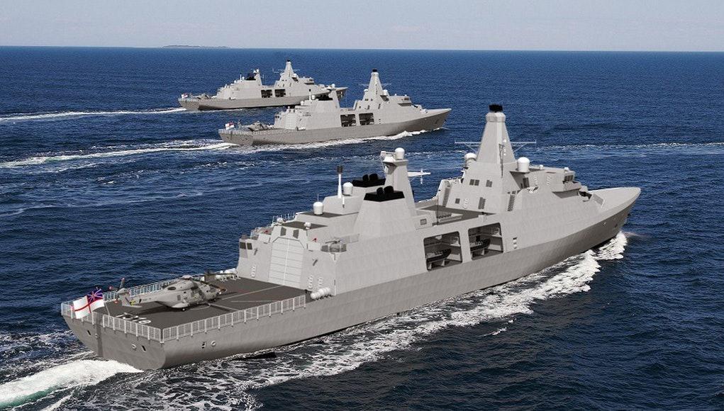 Arrowhead 140: nowa lekka fregata rakietowa dla Royal Navy [VIDEO]