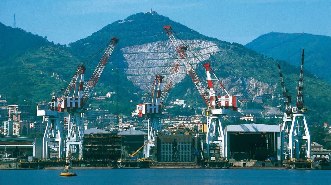 Fincantieri buduje luksusowy statek / Portal Stoczniowy