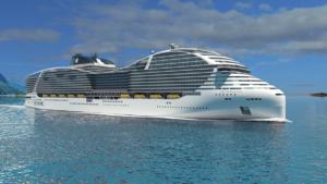 MSC World Class. Wizualizacja MSC Cruises