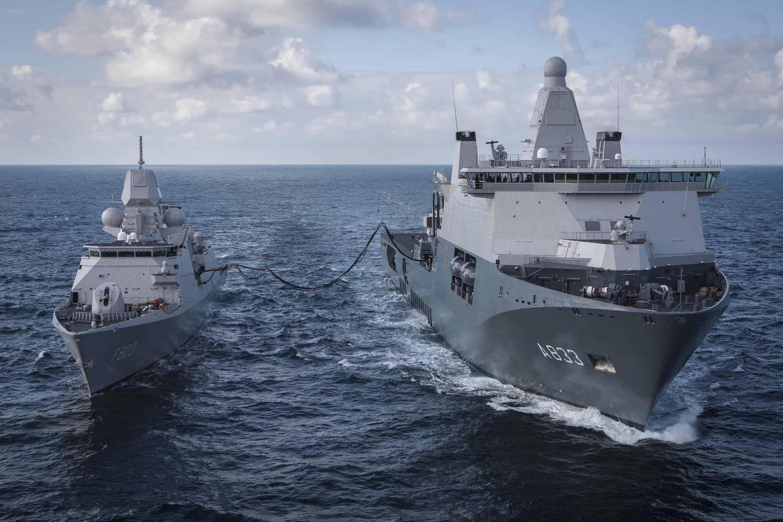 Belgowie i Holendrzy wspólnie kupują fregaty i niszczyciele min
