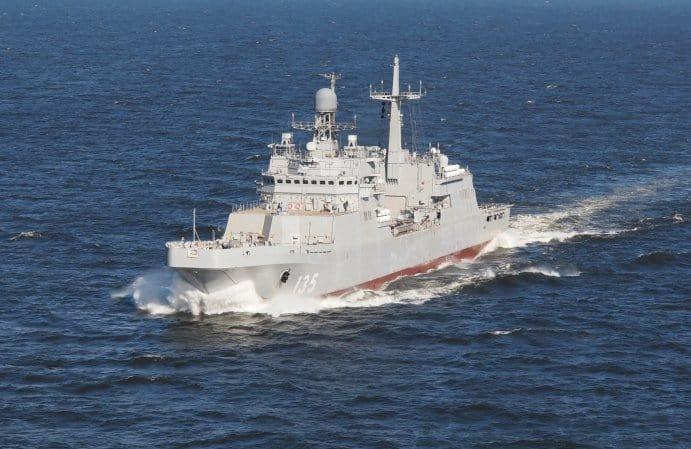 Flota Bałtycka otrzyma kolejny okręt desantowy. Ivan Gren wchodzi do służby