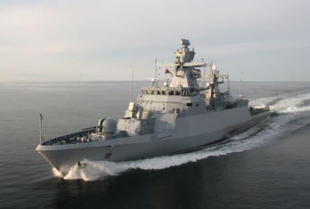 Atlas Elektronik i Thales dostarczą system walki do niemieckich korwet rakietowych K130