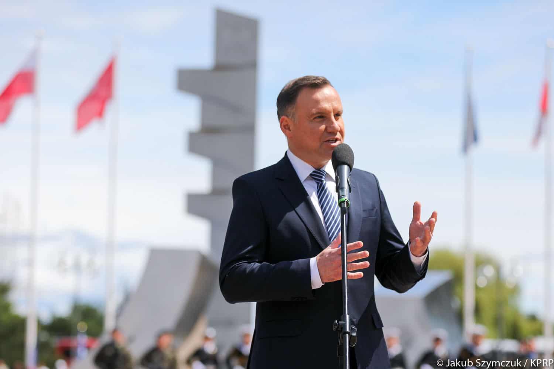 Prezydent Andrzej Duda: infrastruktura marynarki wojennej wymaga odbudowy