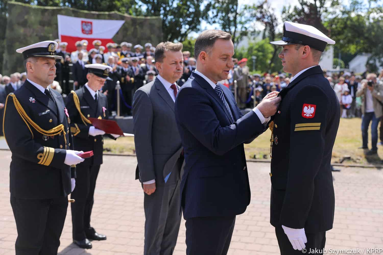 Prezydent Andrzej Duda / Portal Stoczniowy