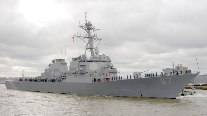 BAE Systems wyremontuje USS Cole
