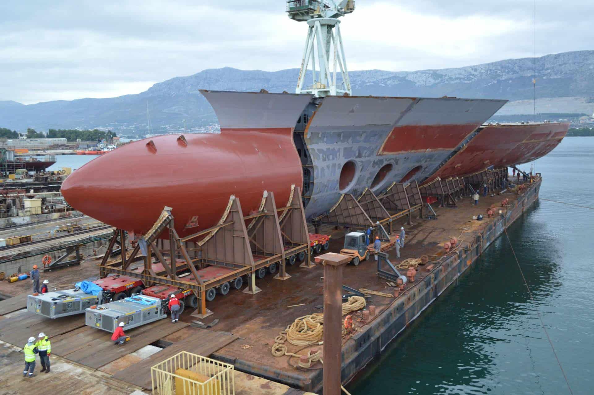 Chorwacka stocznia zbuduje bloki megawycieczkowca dla Fincantieri