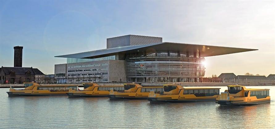 Damen zbuduje pięć promów elektrycznych dla Kopenhagi