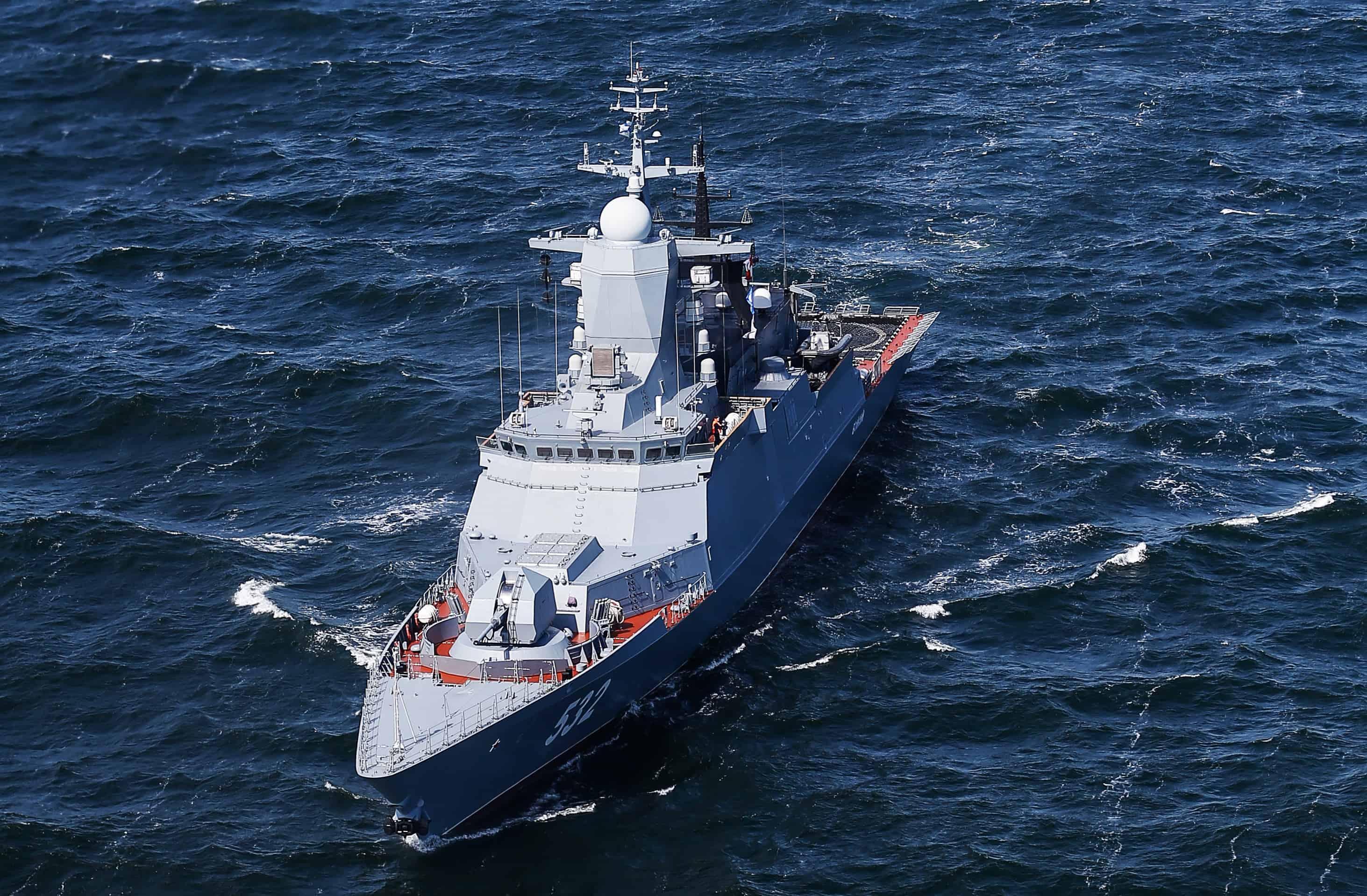 Flota Pacyficzna otrzyma nową korwetę / Portal Stoczniowy