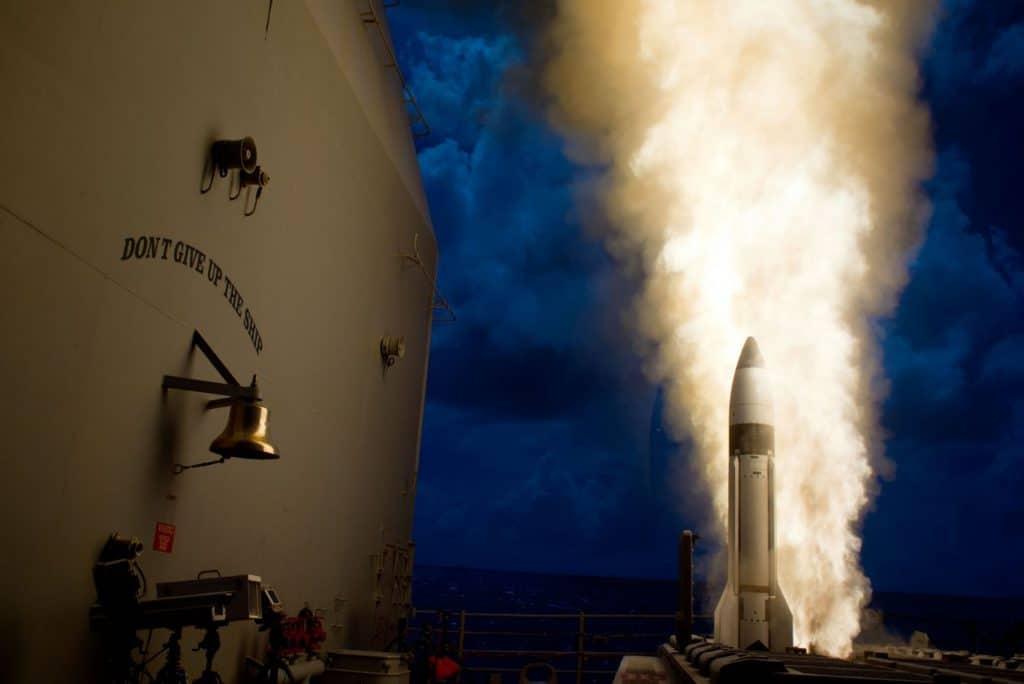 Raytheon SM-3 Block IB / Portal Stoczniowy