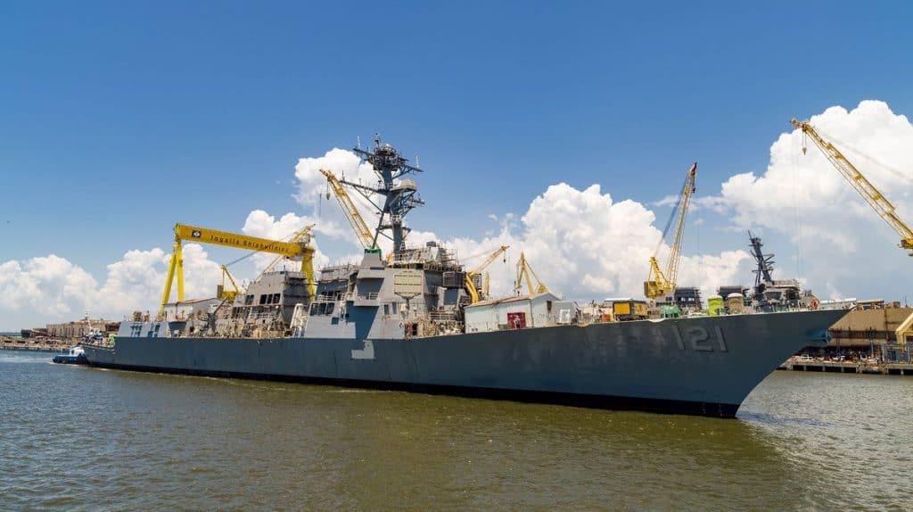 US Navy Destroyer / Portal Stoczniowy