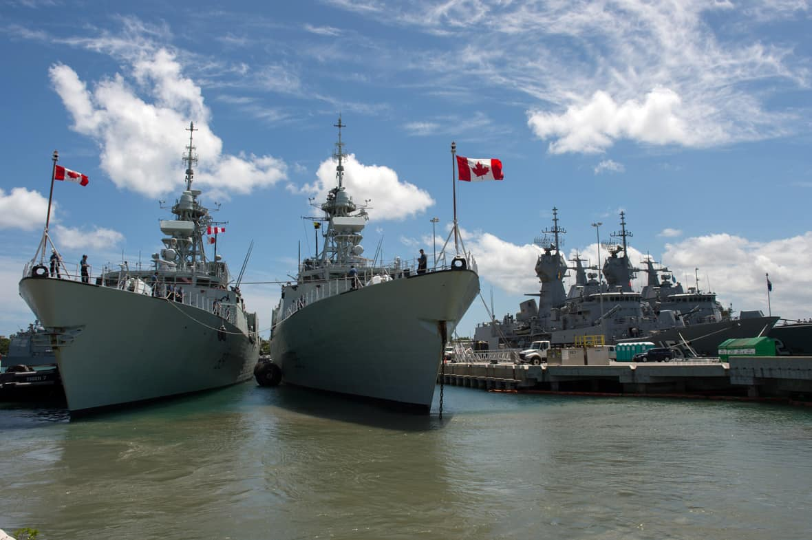 Marynarka wojenna Kanady / Portal Stoczniowy