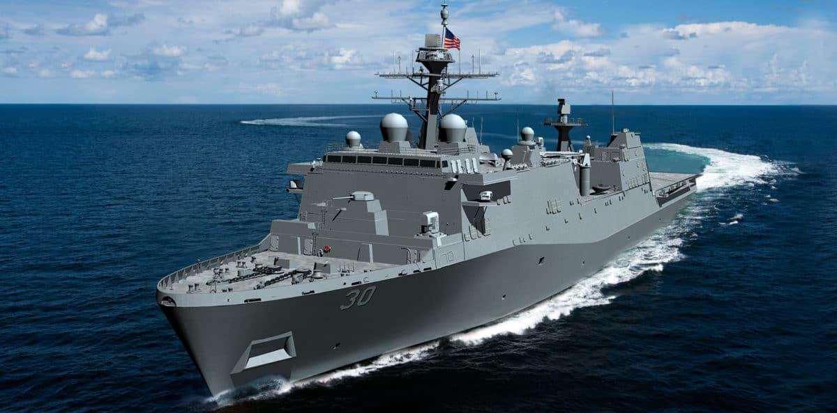 Rusza finansowanie budowy nowych okrętów desantowych