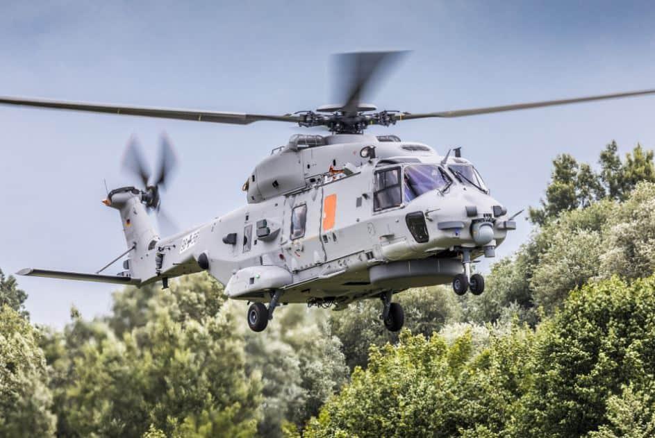 Prototyp NH90 Sea Lion dla marynarki wojennej Niemiec.