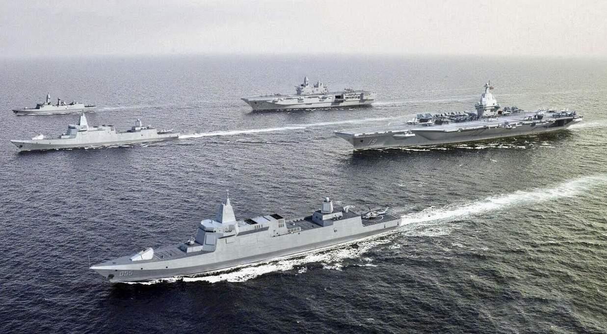 Niszczyciel typu 055 / Portal Stoczniowy