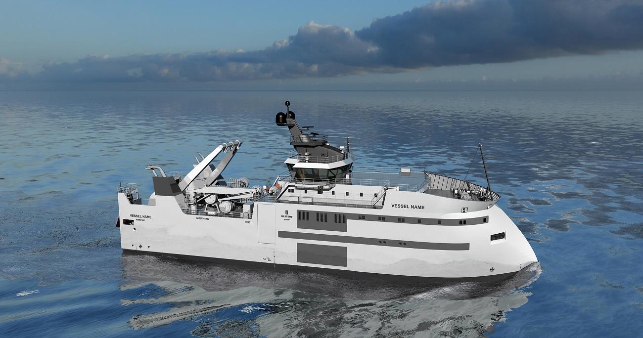 Ulstein Trawler Sea SB Fore
