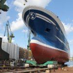 Stocznia Remontowa Nauta zwodowała piąty statek w tym roku. I co dalej?