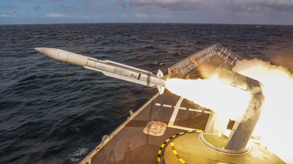 Fregata rakietowa SM-1 / Portal Stoczniowy