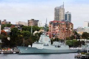 HMAS Brisbane / Portal Stoczniowy