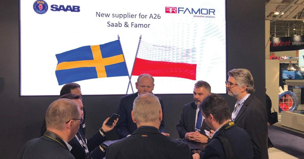 Saab Famor / Portal Stoczniowy