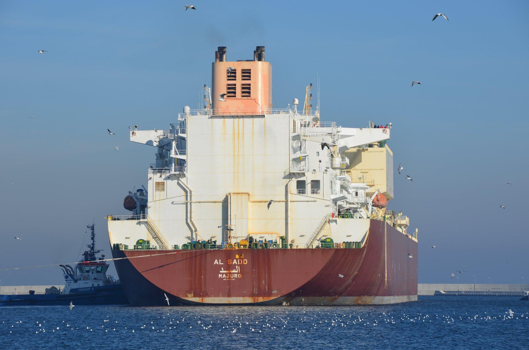 Gazoport w Świnoujściu LNG / Portal Stoczniowy