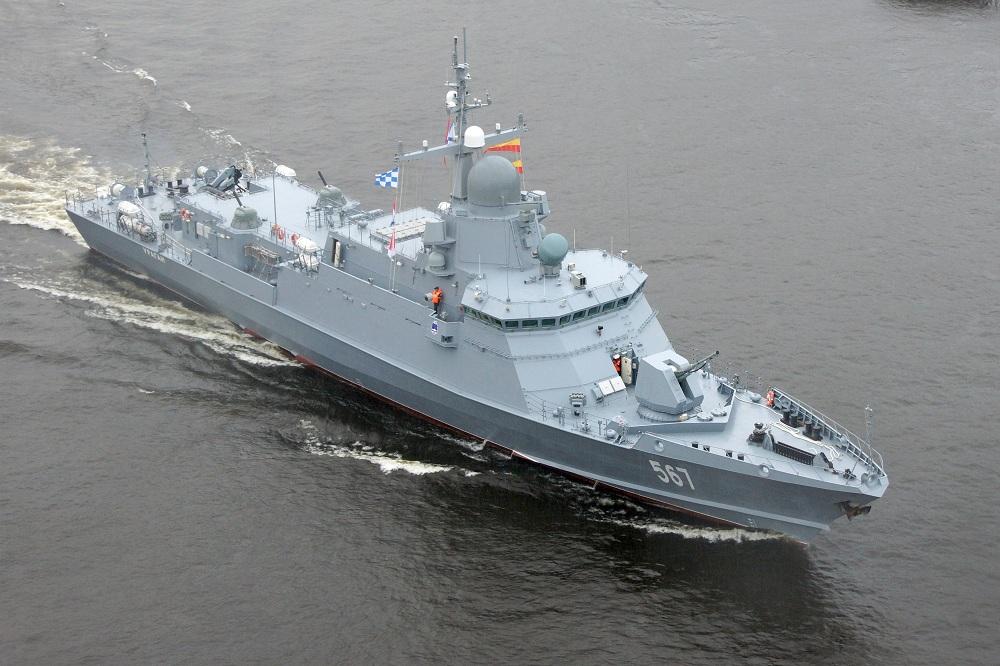 Korweta rakietowa Karakurt / Portal Stoczniowy