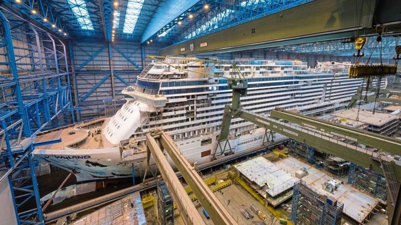 Świetna passa stoczni w Papenburgu: Meyer Werft szuka 250 pracowników
