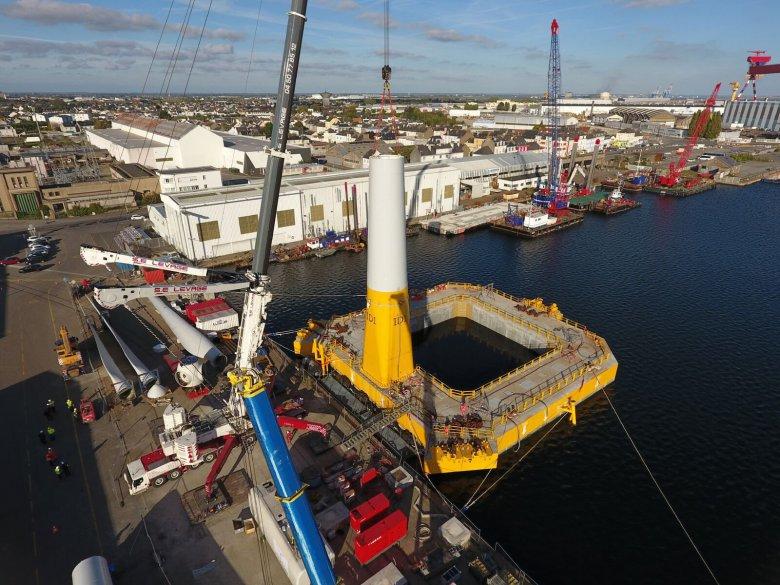 Francuska firma dostała 2,5 miliona euro z programu Horyzont 2020 na projekt offshore
