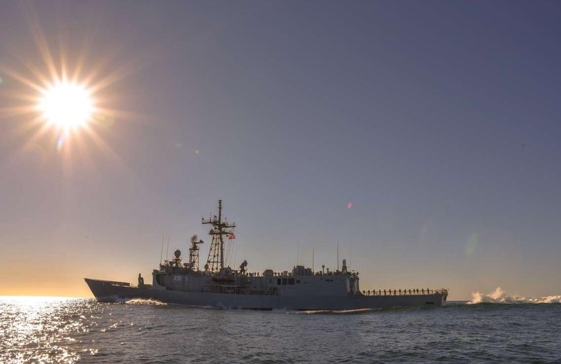 Trident Juncture 2018: załoga fregaty ORP Gen. K. Pułaski ćwiczy u boku sojuszników