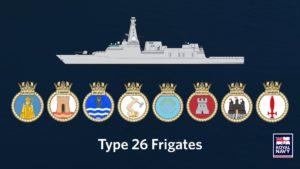 Fregaty Type 26 / Portal Stoczniowy