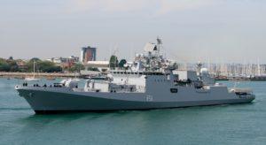 Fregata typu Talwar / fot. Wikipedia, domena publiczna