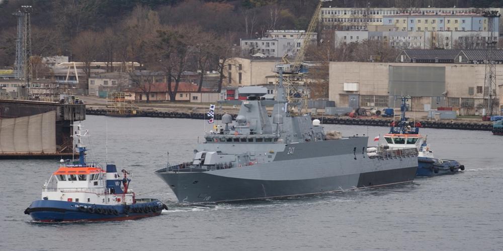 PGZ Stocznia Wojenna: kolejny etap prób morskich okrętu patrolowego ORP Ślązak