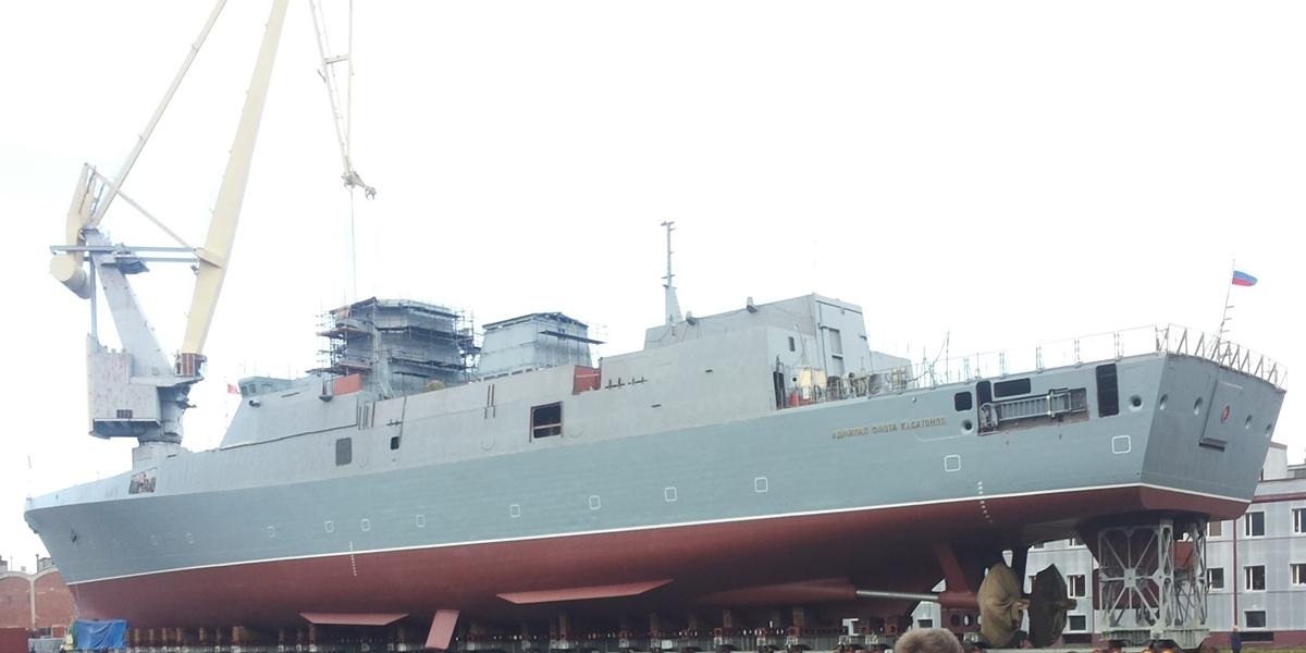 admiral kasatanow / portal stoczniowy