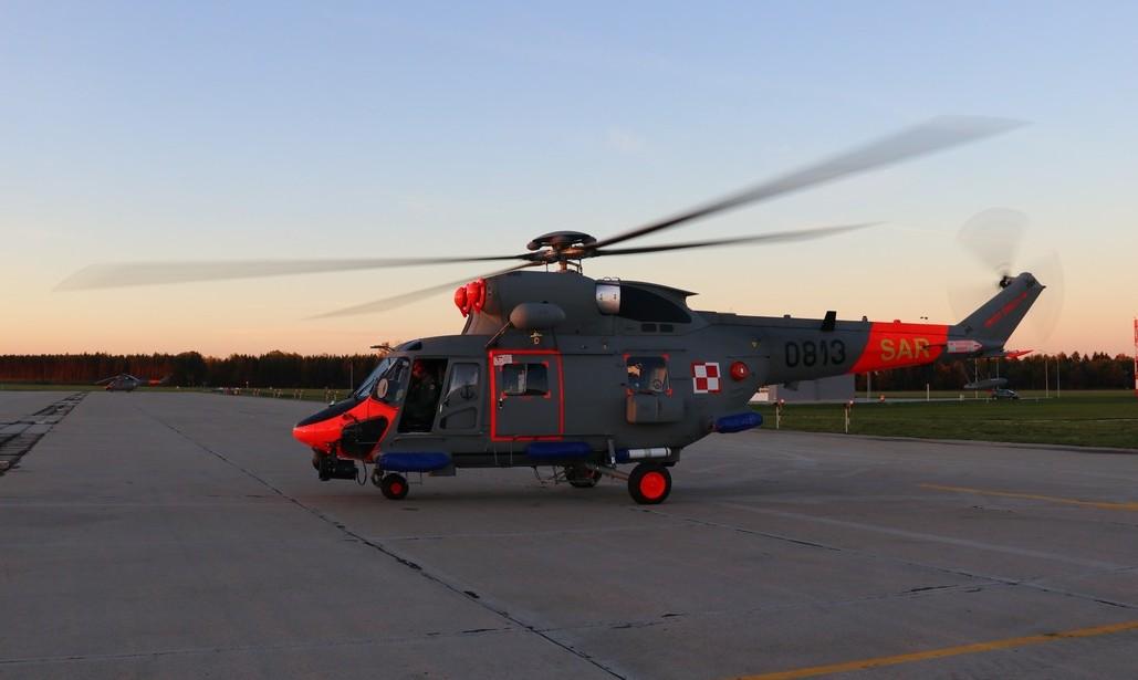 Anakonda po modernizacji w Świdniku wróciła nad Bałtyk