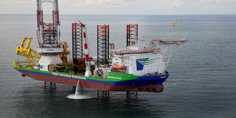 Morska farma wiatrowa Hornsea One: prace idą pełną parą