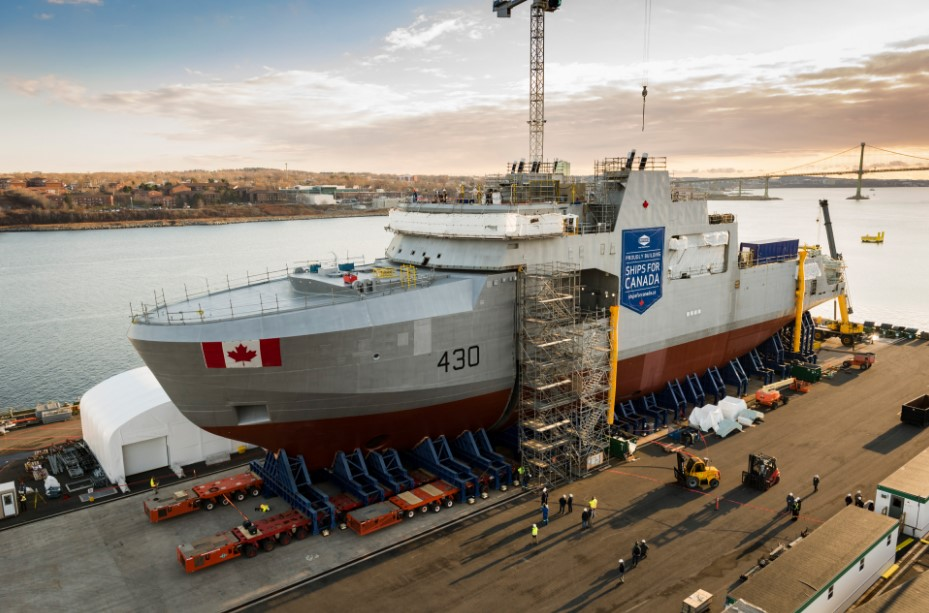 Kanadyjczycy zamówili szósty patrolowiec arktyczny dla marynarki wojennej