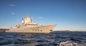 Fregata Helge Ingstad / Portal Stoczniowy