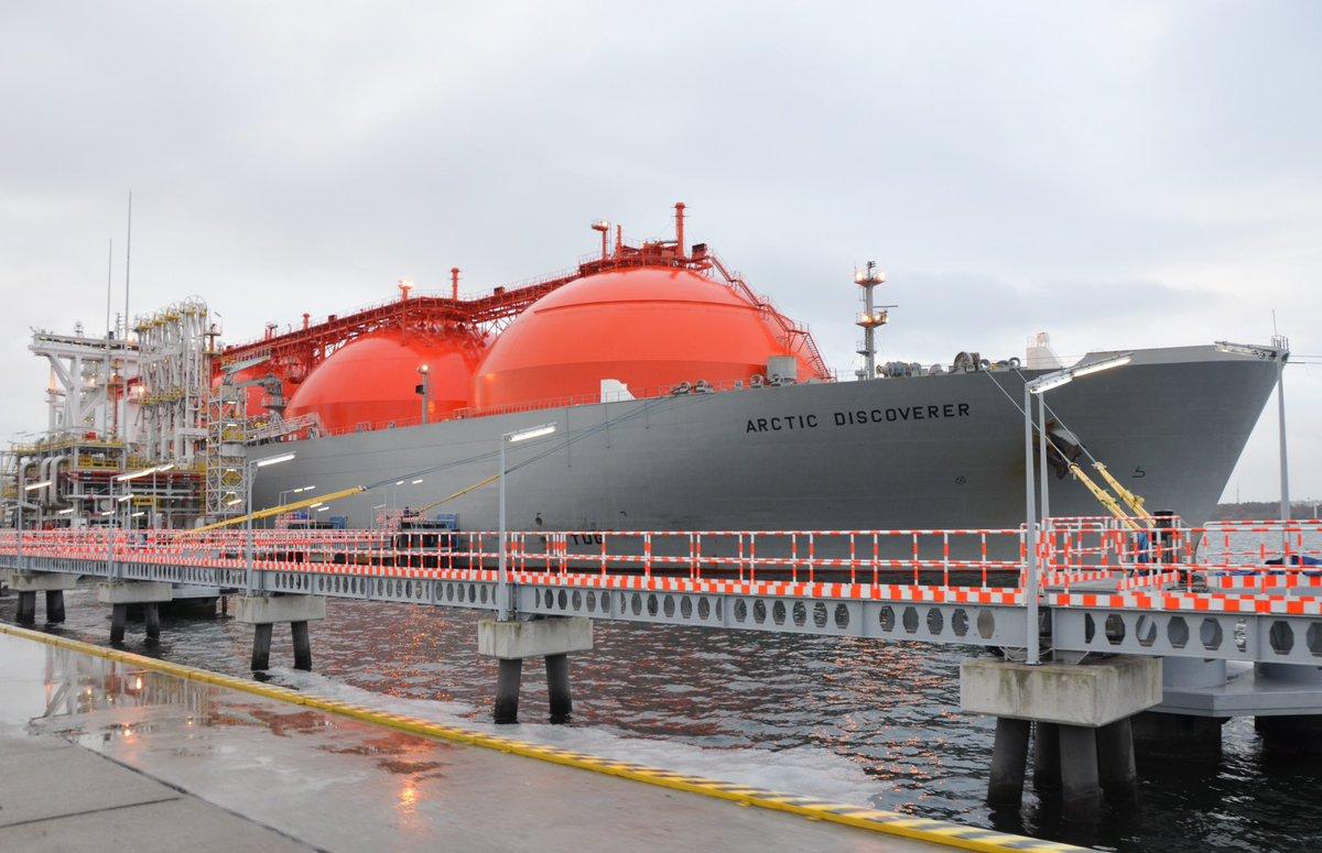Osiągi gazoportu w Świnoujściu szybują. Terminal LNG przegania europejskich liderów