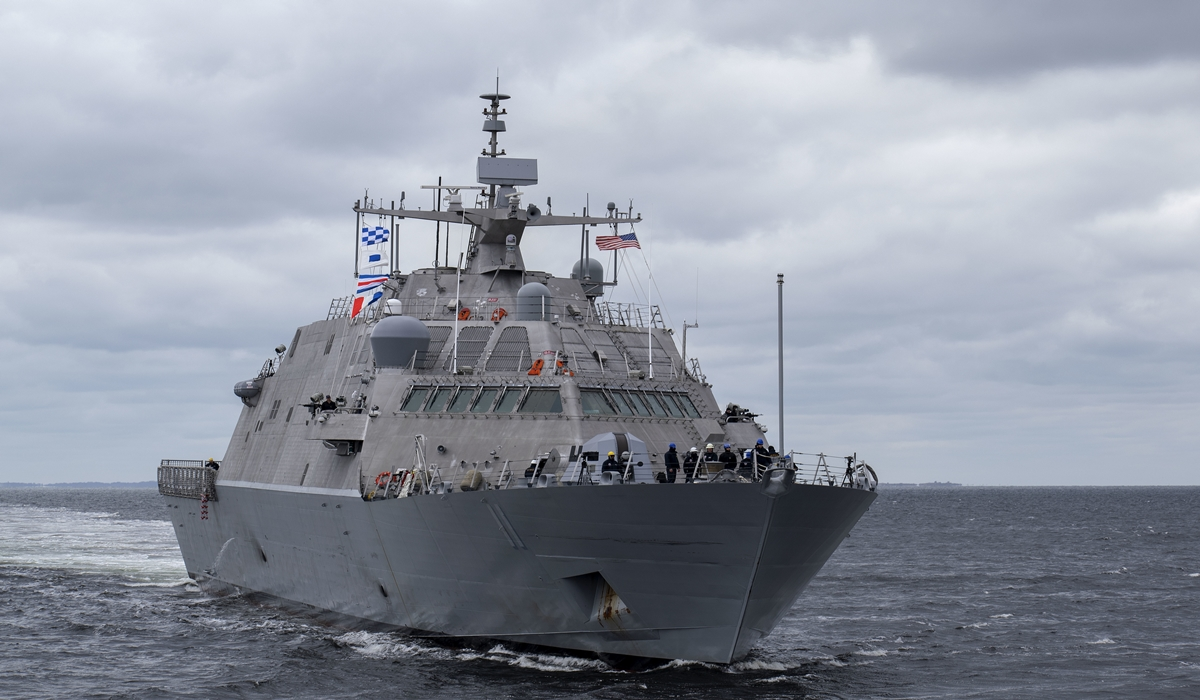 Future Littoral Combat Ship USS Sioux City (LCS 11)