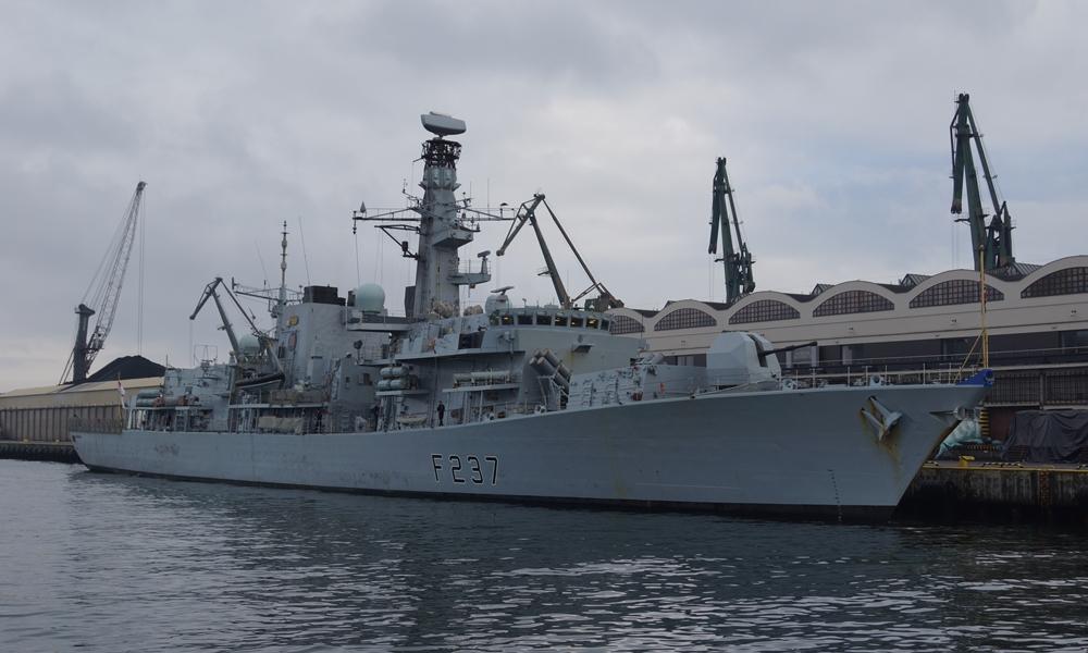 HMS Westminster – brytyjska fregata rakietowa z przedłużoną wizytą w Gdyni
