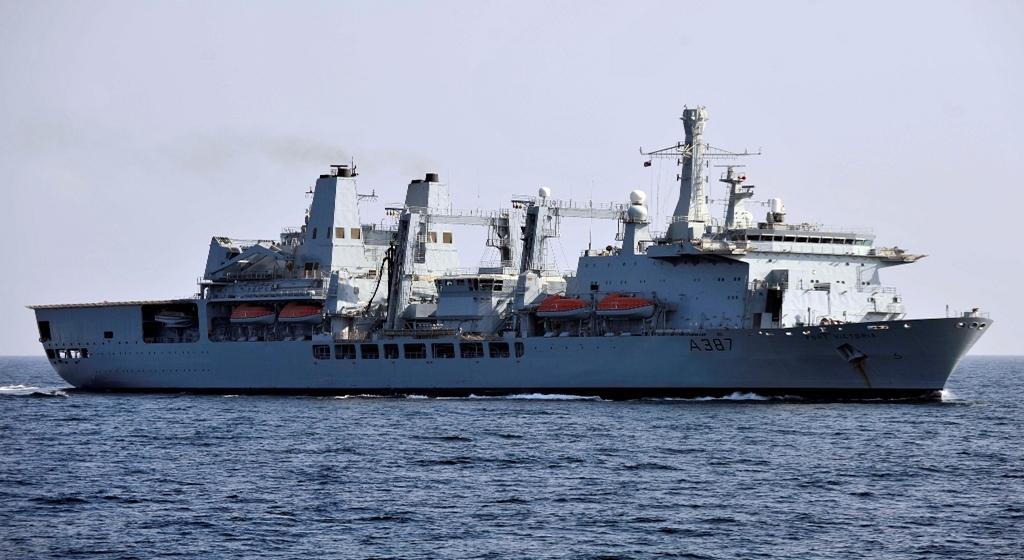 Zaopatrzeniowec Royal Navy / Portal Stoczniowy