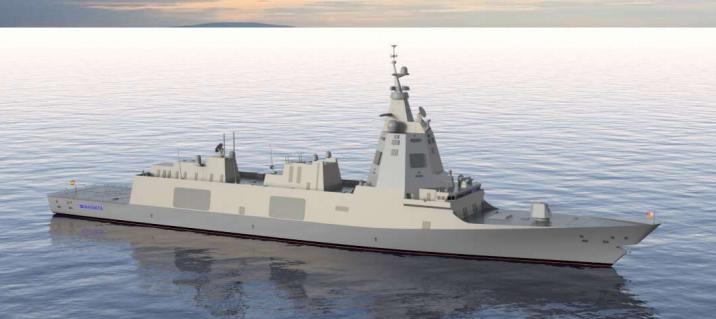 Fregata F-110 / Portal Stoczniowy
