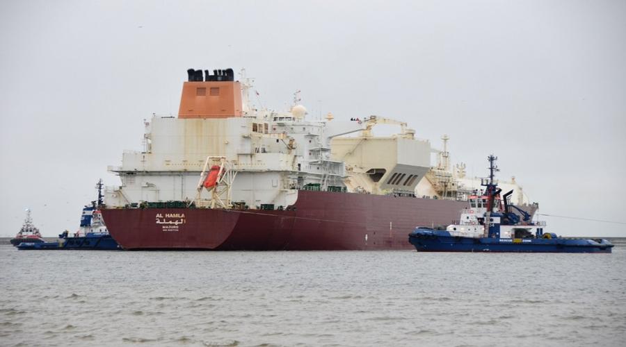 Al Hamla, Polskie LNG / Portal Stoczniowy