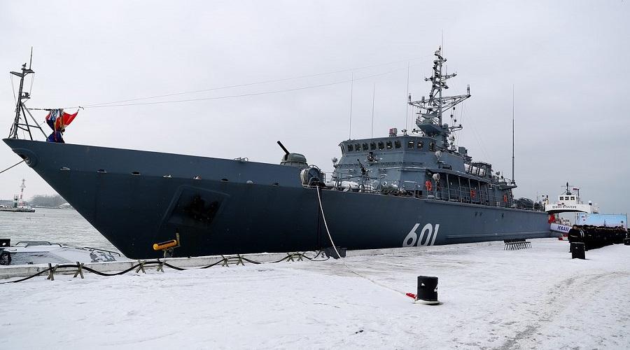 Bałtyjsk: nowy trałowiec projektu 12700 wszedł do służby w marynarce