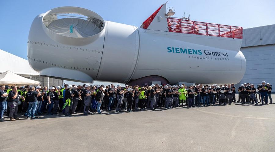 Siemens Gamesa goni konkurencję: przygotowuje turbinę wiatrową o mocy 10 MW