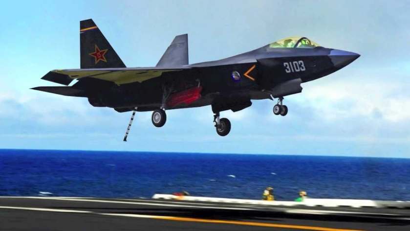 J-31 nowym myśliwcem pokładowym na chińskich lotniskowcach?