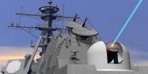 Broń laserowa US Navy / Portal Stoczniowy
