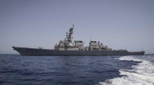 USS Donald Cook Morze Czarne / Portal Stoczniowy