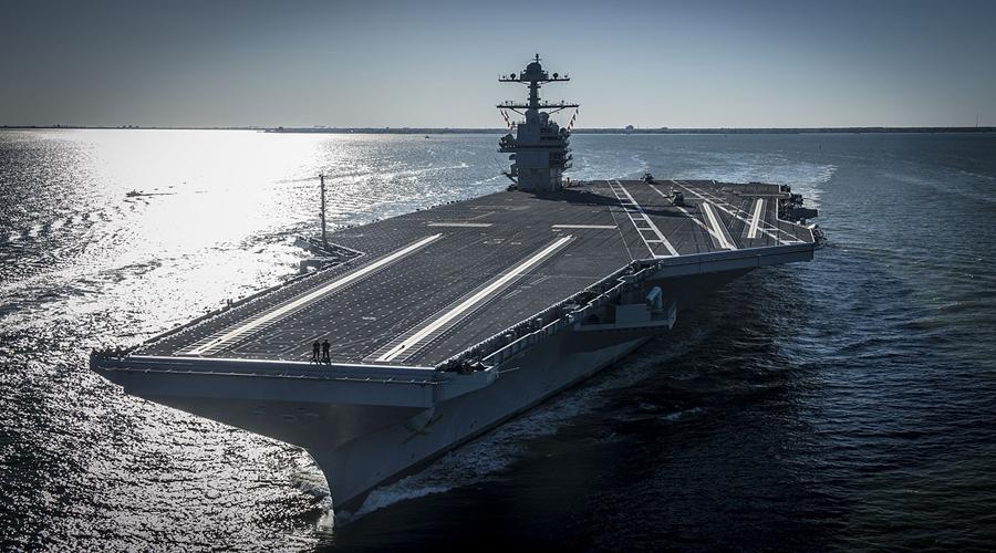 US Navy: Pentagon kupuje dwa lotniskowce atomowe typu Gerald R. Ford